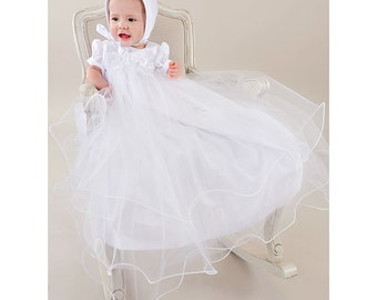 Shanna Baby Girl Christening, Baptism or Blessing Gown