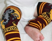 Harry Potter Gryffindor Halloween Costume Baby to Toddler Leg Warmers