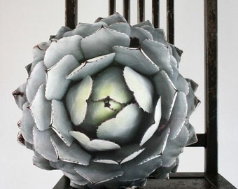 Succulent pillow made to order