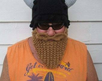 Long Beard Viking beard hat Bearded hats Wild ski mask Face Mask Winter Hat Beanie Snowboard Hat wikinger barbarian hat Mens Halloween hat