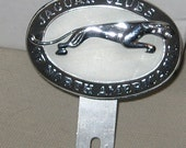 Vintage Jaguar Clubs of North America Car Badge Collectible FREE SHIPPING USA