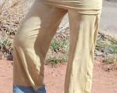 Organic Yoga Flow Pants Hand Dyed Sm/M