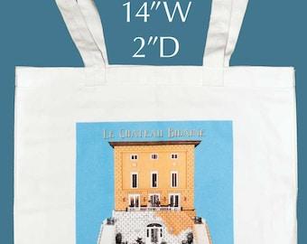 Chateau Bidaine tote bag - Coloring book
