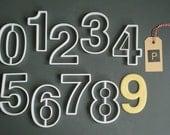 Helvetica set of number c...