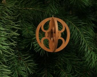 Snowball 3-D Christmas Ornament