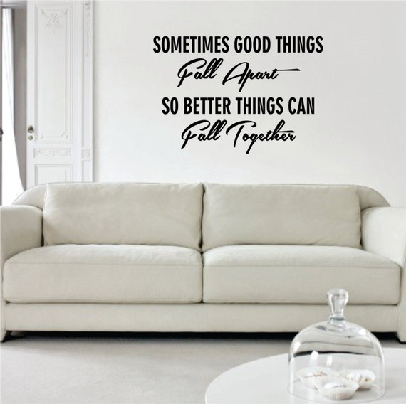 Marilyn Monroe Quotes Better Things Can Fall Together: So Better Things Can Fall Together Marilyn Monroe Quote Decal