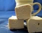 Vanilla Chai Marshmallows  - 1 dozen Gourmet homemade marshmallows