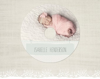 CD/DVD Label - Photography CD Label Template -CD03