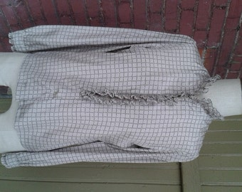 Vintage Blouse with Ruffles by Adelaar Size 10