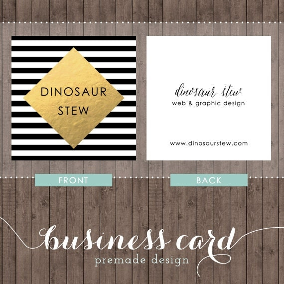 square business card design gold foil we design you print