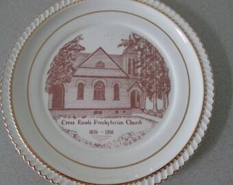 Cross Roads Presbyterian Church, Gibsonia, PA, Plate