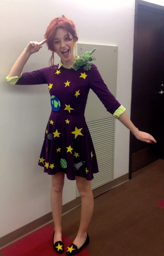 Sell Car Online >> Items similar to COMPLETE Ms. Frizzle Costume/Cosplay The Magic Schoolbus on Etsy
