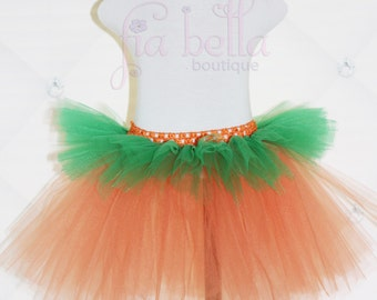 TUTU SKIRT...Halloween Pumpkin Skirt...Newborn Tutu...Baby Tutu...Toddler Tutu...Cakesmash Tutu...Birthday Tutu...Halloween Costume