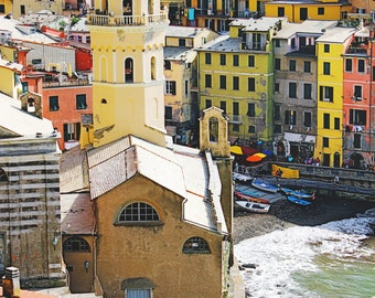 Vernazza - Cinque Terre - Italy - Travel Photography - Fine Art Photography - Colorful - Village - Italia - Summer - Wanderlust - Art