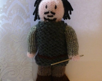 Bronn (Game of Thrones) knitted doll