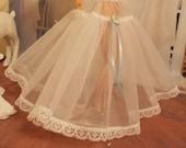 "Crinoline (Petticoat Slip) for 11 1/2"" & 12"" Fashion Dolls to make their dresses look fuller."