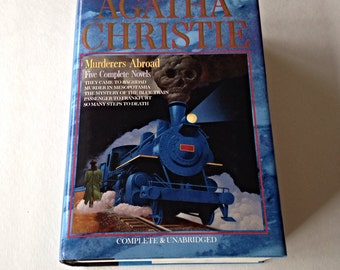 Agatha Christie Murderers Abroad 5 Complete Novels, Mystery Novels, Cosy Mysteries, Mystery lover