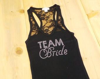Team Bride Tank Top Shirt. Bachelorette Party. Maid of Honor. Bride. Matron of Honor. Wedding Bridal Party. Bridesmaid Gift.