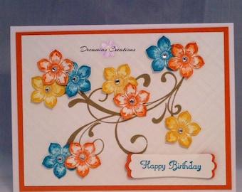 Whimsy Flower Card