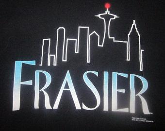 Frasier T-Shirt Stanley DeSantis 1994 Seattle Space Needle Logo