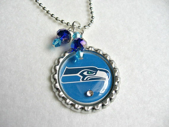 seahawks jewelry nfl seattle seahawks pendant necklace 3703