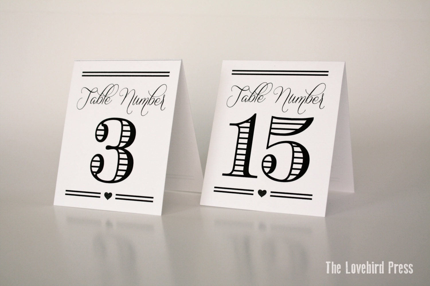 printable table tents