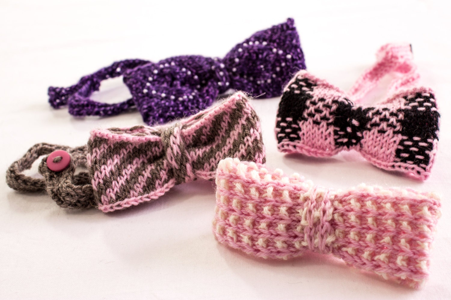 KNITTING PATTERN, Girls Headband Pattern, Bow Headband ...