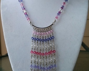Swarovski Crystal Cascading Necklace