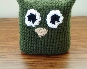 Pillow Hoot Owl