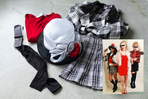 Clueless Costume Images & Cher From Clueless Halloween Costume - Meningrey