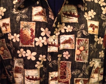 Vintage Hawaiian Luau Shirt