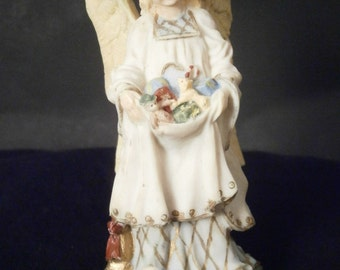 Christkindle German Christmas Angel Figurine Vintage 1992