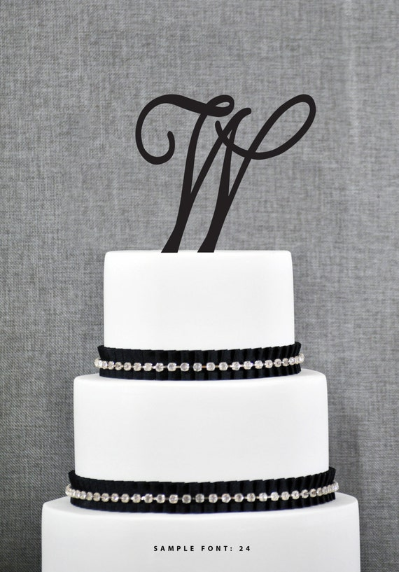 Monogram Wedding Cakes  Pinterest