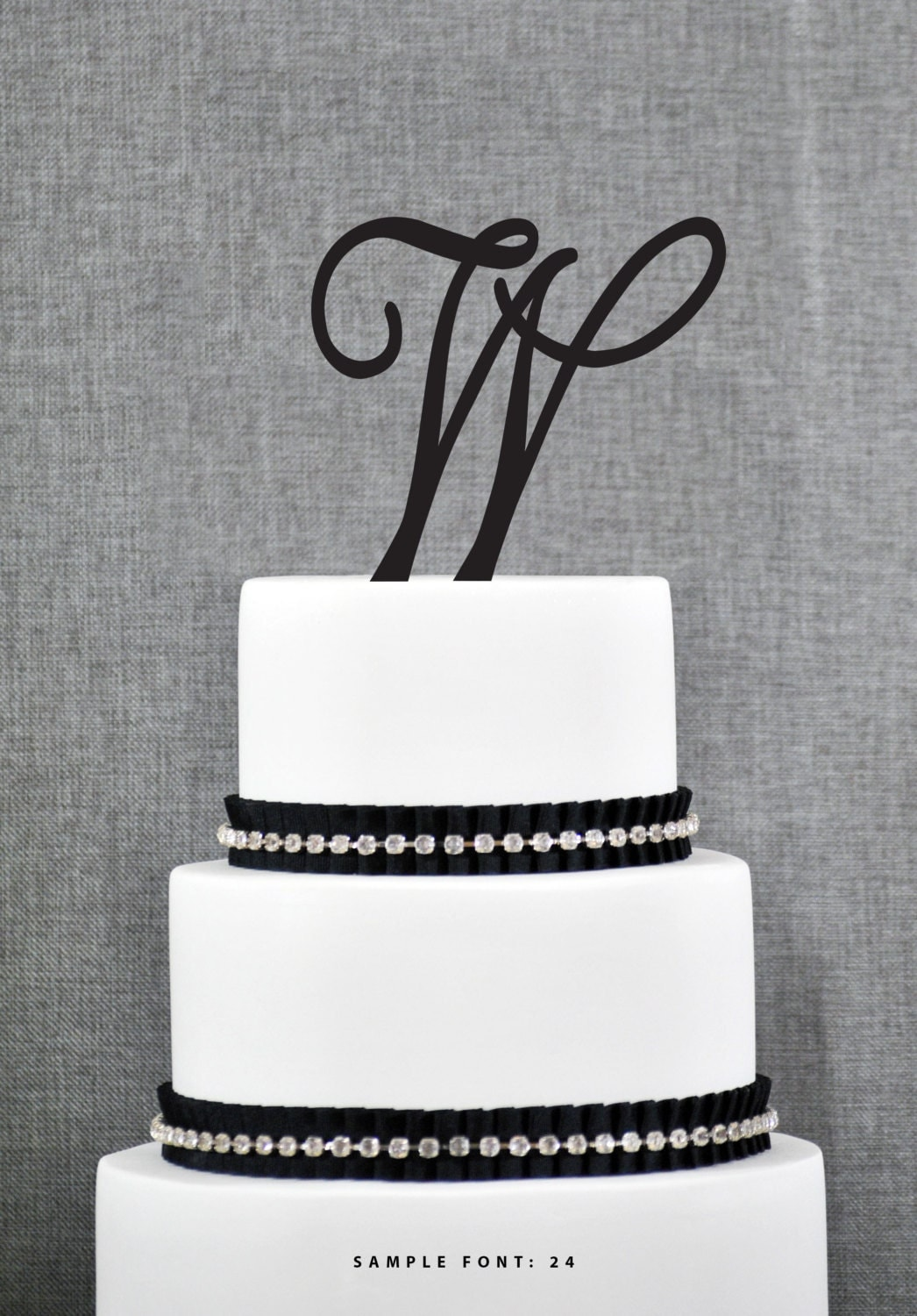 monogram wedding cake toppers personalized monogram initial wedding cake toppers letter w 5998