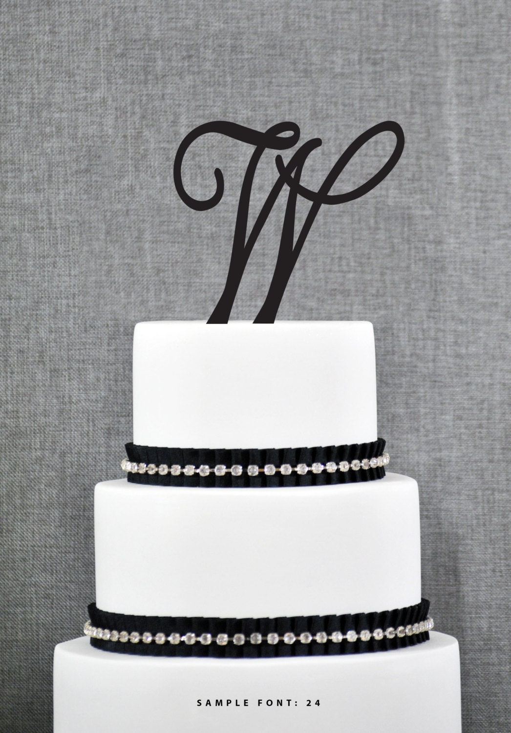wedding cake monogram toppers personalized monogram initial wedding cake toppers letter w 23277