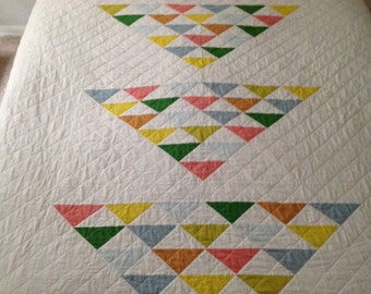 Modern Quilt Patterns For Beginners : Modern quilt pattern: simple geometric design