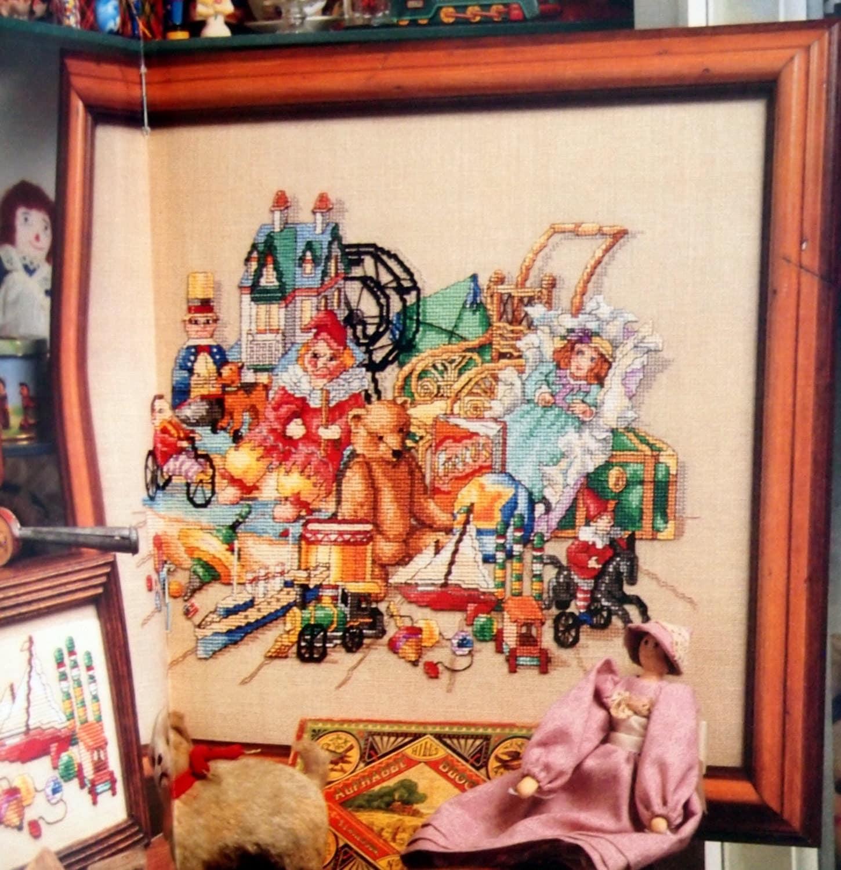 Cross Stitch And Country Crafts Cross Stitch Pattern Magazine