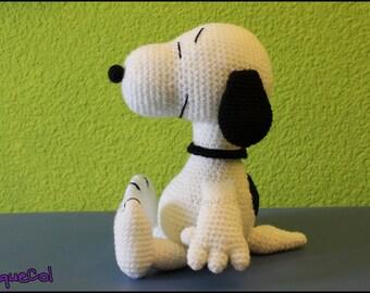 Snoopy big amigurumi, handmade