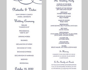 Free Wedding Program Template Word Kleobeachfixco - 5x7 wedding program template