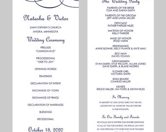 free microsoft word wedding program template