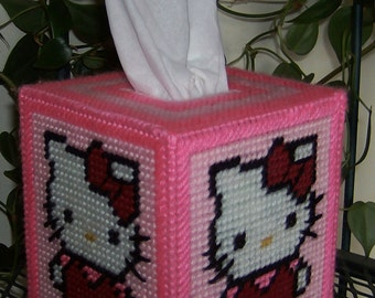 HELLO KITTY -  Boutique Size Tissue Box Cover