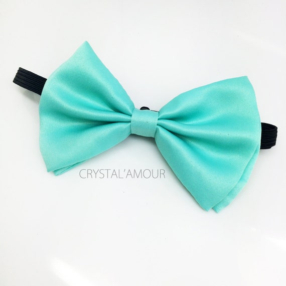 mint green bow tie mint bowtie mint bow for stylish