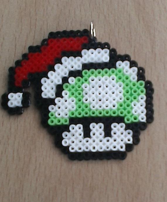 Super Mario 1UP Mushroom Christmas Tree Decorations. Pack