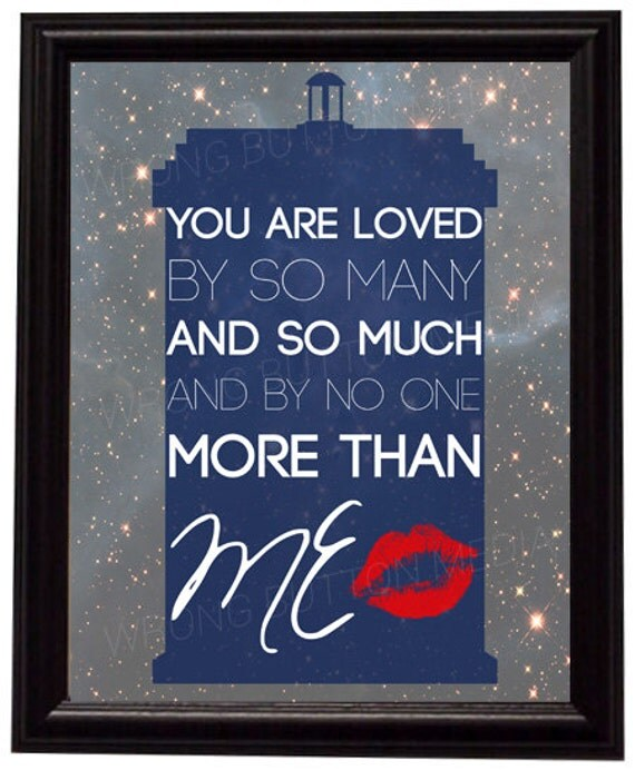 Doctor Who 11th Doctor River Song Quote Art Print — Geeky Gifts, Cheap Gifts