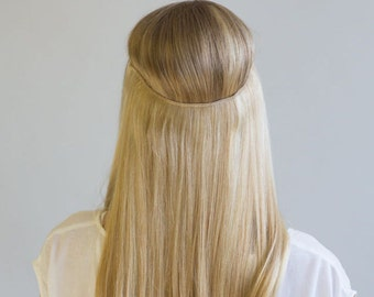 """24"""" 100g Magic-HALO -Miracle Secret wire 100% human hair extensions, 100 grams./ 24 INCHES/ New colours/"""