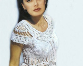 ... crochet top, beach crochet top pattern, detailed tutorial in English