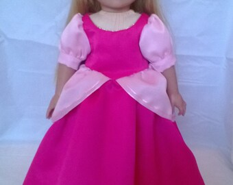 American Girl Doll size clothes - Sleeping Beauty dress