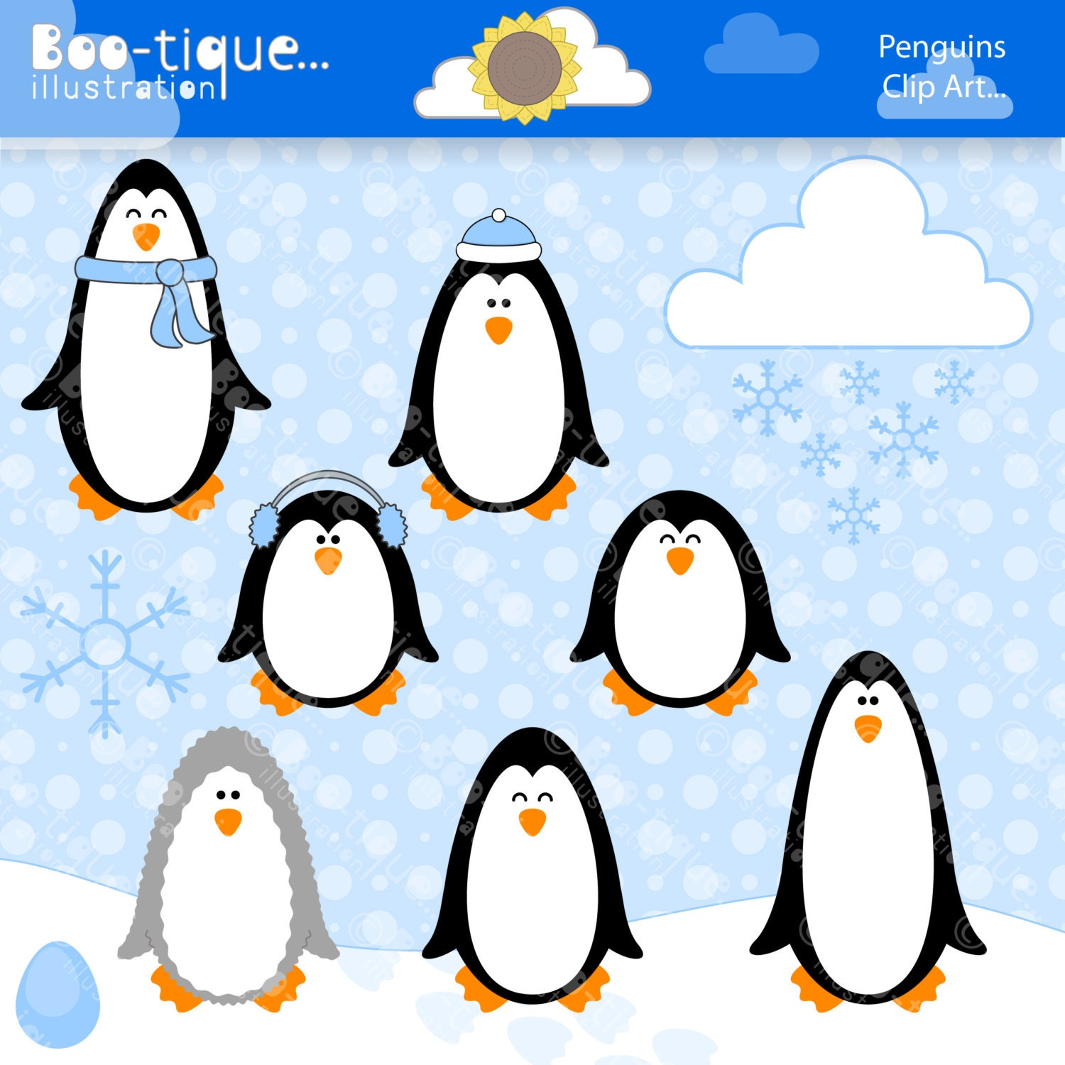 Christmas Clipart   Boo-tique Illustration Clipart