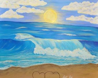 IhearttheOcean 20x20 Fine Art  Print