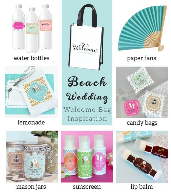 Beach Wedding Gift Bag Ideas: Wedding Welcome Bags Out Of